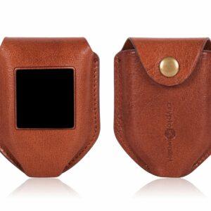 Trezor Model T Brown Leather Case